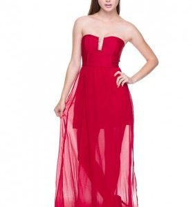 Best 70 Tips For Red Maxi Dress