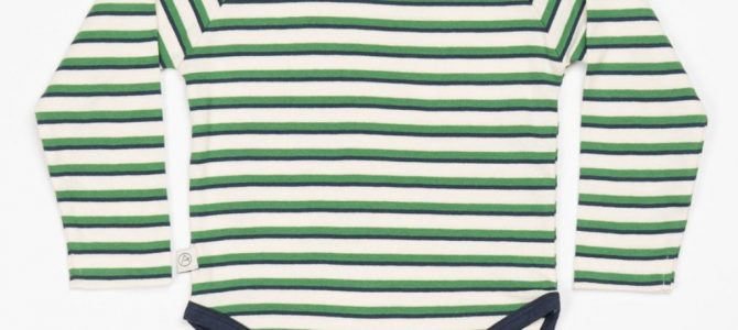 Alba Kenya Body – Juniper Stripe – Organic Cotton